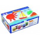 Prstové barvy 6 x 125 ml