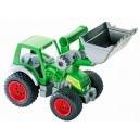 Traktor Farmář s lopatou, gumová kolečka