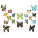 Velká sada motýlů