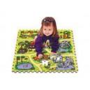 Safari TM02 skládačka puzzle pěnové,  podložka