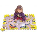 Město silnice pěnové puzzle TM 003
