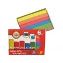 Školní křídy barevné 6ks