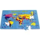 PN 200 Mapa světa puzzle