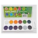 Vodové barvy - anilinky - brilantní odstíny