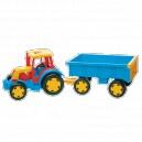 Traktor gigant s vlekem