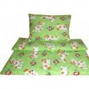 Povlečení bavlna - Alík zelený