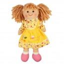 Látková panenka Daisy 25 cm