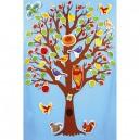 Magnetický strom - 57 x 81 cm + 80 ks magnetek