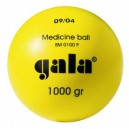Medicinální míč GALA plastový 1kg