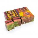 Z pohádky do pohádky - 12 kostek v dřevěné krabičce