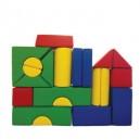 21-dílná molitanová stavebnice, typ A