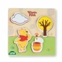 Dřevěné puzzle Winnie the Pooh,