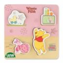 Dřevěné puzzle Winnie the Pooh, prasátko