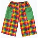 Hrací kalhoty Kostičky - 1 kus z ukázky
