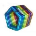 Magnetická stavebnice - pětiúhelníky