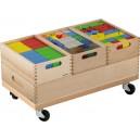 Stavební sada - vozík (barevná)