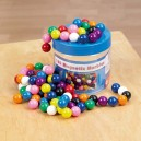 Barevné kulové magnety 100ks