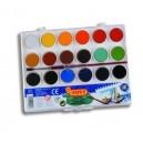 Vodové barvy 18 barev + štětec
