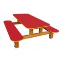 Stůl s lavicemi