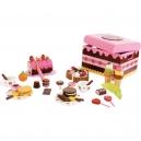 Box dřevěné sladkosti