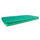 Matrace molitanová zelená, 60x130x10 cm