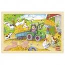 Puzzle traktor, 24 díly