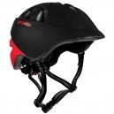 CHERUB Dětská cyklistická helma 48-52 cm černo-červená