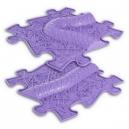Ortopedická podlaha - Had rozšíření fialová
