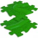 Ortopedická podlaha - Had rozšíření zelená