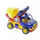 Auto míchačka s gumovými kolečky