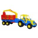 Dětský plastový traktor Altaj lesnický